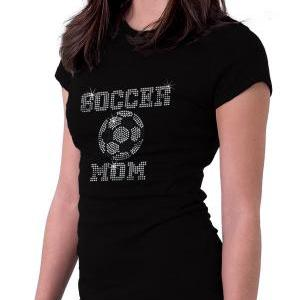 Custom Personalized Soccer Rhinesto..