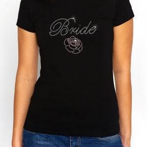 Bride with Rose Bachelorette Rhines..