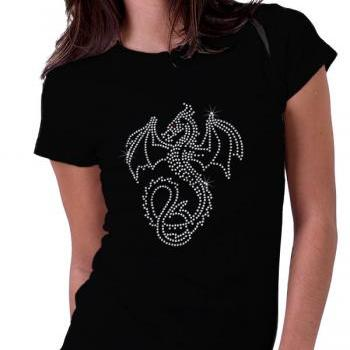 Dragon 1 Rhinestone Shirt